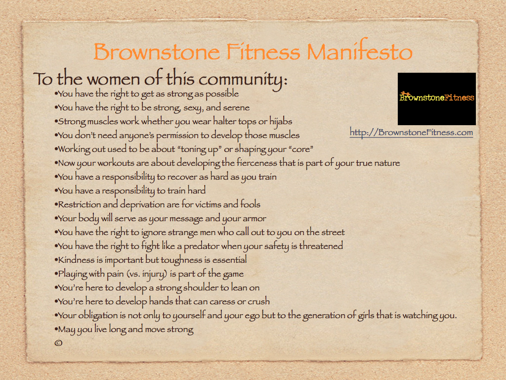 Brownstone manifesto.001 About